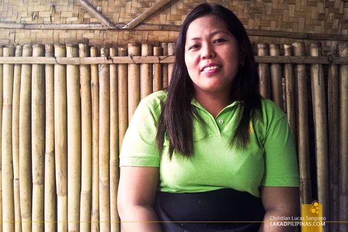 Christina of Jibs Pancit Bating Patong in Manila