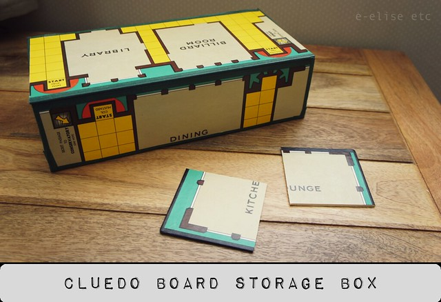 cluedo board box diy 1