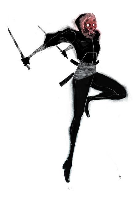 Oubliette Session Eighteen: Shinobi Attack!: mordicai