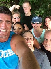 Run for Life Training Selfie