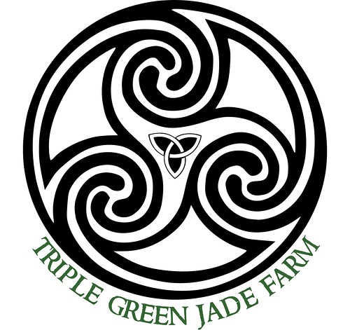 Triple Green Jade Farm Logo