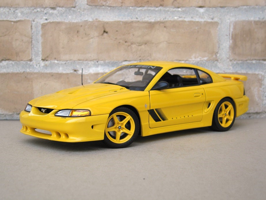 Cadillac Ats V Coupe >> AUTOart 1:18 Saleen Mustang S351 ' 95 - DX Muscle Cars | Pony Cars | Hot Rods - DiecastXchange ...