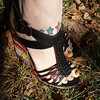 Love #naughtymonkey & #jamberry!  #desertmirageJN #jamstagram #tattoo #ashlacquerJN #pedicure