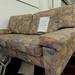 2 Seater mixed fabric sofa