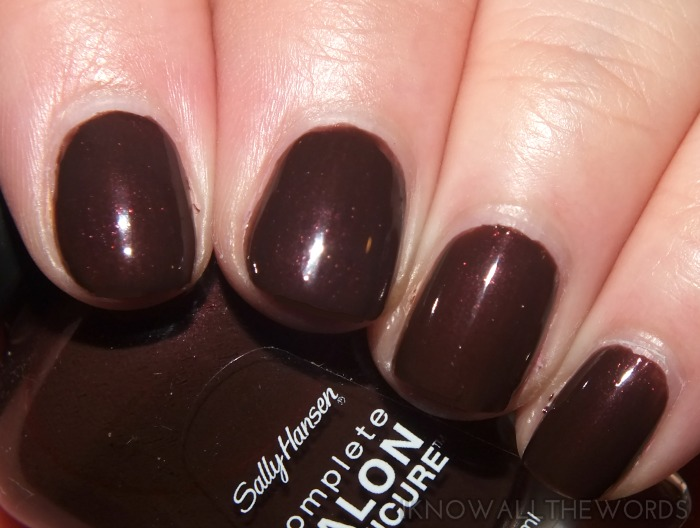 sally hansen complete salon manicure fall 2014- branch out