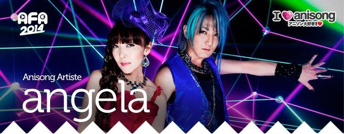 Five More Acts Complete AFA 2014 I Love Anisong Mega Anime Music Festival Line-up angela