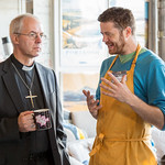 Archbishop Justin Welby visits The DOCK Cafe