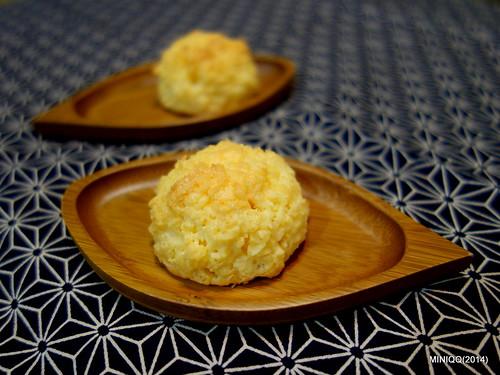 20140930 W09椰香英式馬卡龍 Coconut macaroons (椰子球)-3