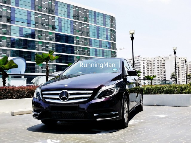 Mercedes benz b class 180 ivan teh runningman for Mercedes benz corporate run 2018