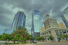 Tampa City Hall and skyscrapers