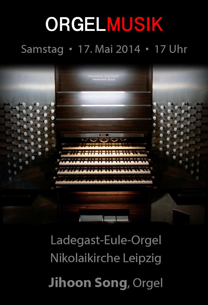 Nikolaikirche Orgelmusik Jihoon Song