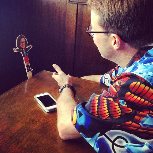 It's @jeffcutler chatting with #FlatHandley