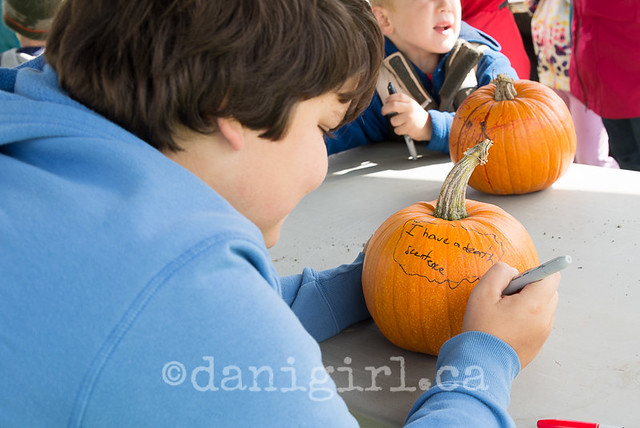 A 10 photo essay on pumpkin smashing
