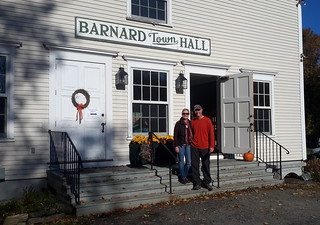 Fall Foliage Breakfast at the Barnard Town Hall