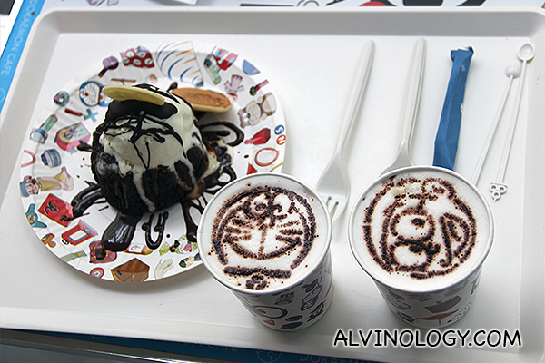 Doraemon snacks and drinks