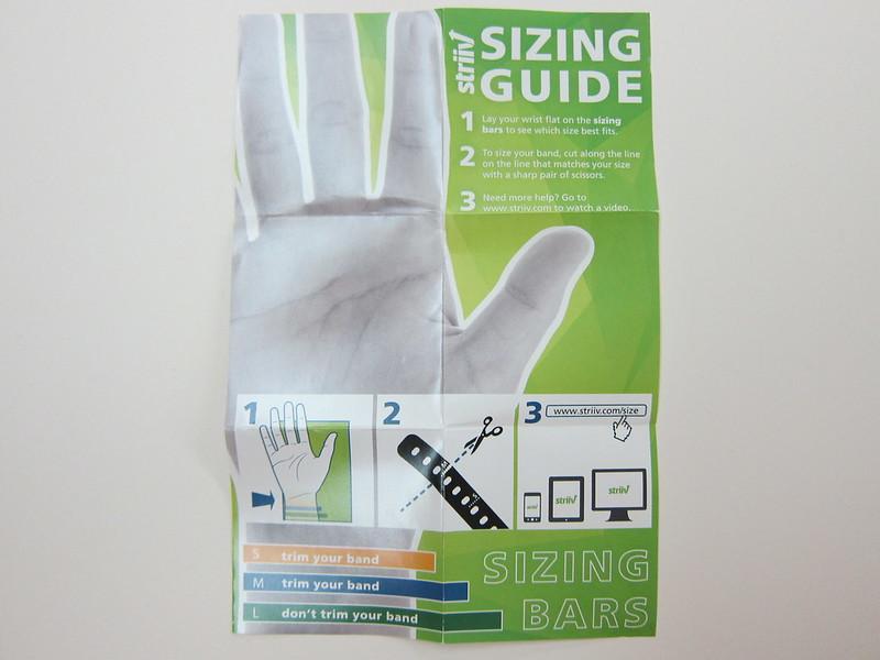 Strriv - Size Guide