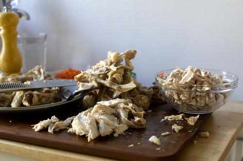 chicken-pickin mess