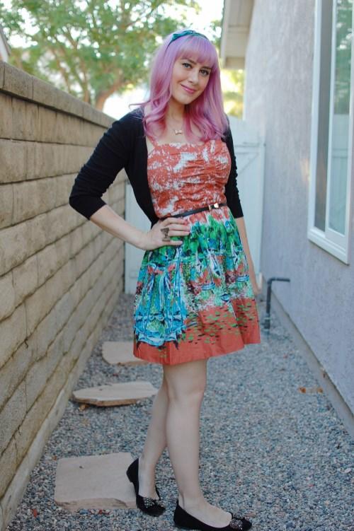 Modcloth Ixia Mount Desert Dreaming dress 011