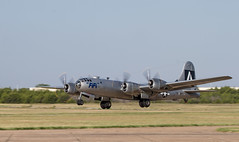 Nose Up! B-29 take off at the CAF WWII Air Expo at Dallas Executive Airport