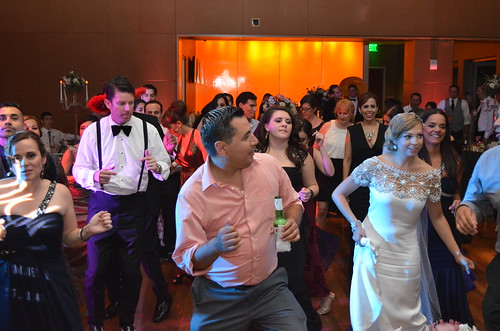 Wedding Dancing at The Skybox in San Diego