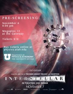 Interstellar Pre-screening - Purchase Tickets Here