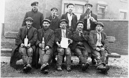 26 Miners from Low Laithes Colliery, Gawthorpe