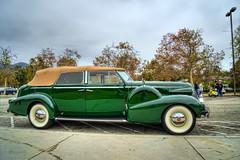1939 Cadillac 75 Fleetwood Convertible Sedan