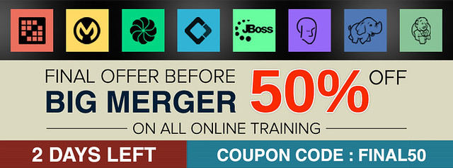 Hurry Up!!! Last Two Days For 50% Off on Open Source Online Trainings