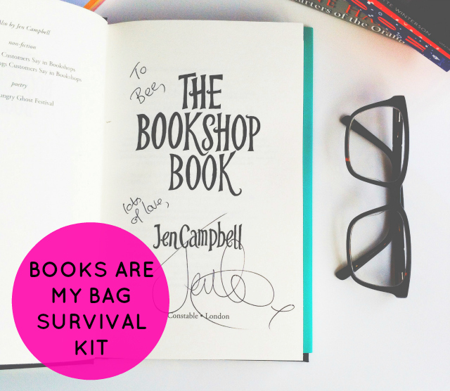 vivatramp books are my bag survival kit