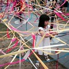 aMaze Me: live art installation at the Esplanade.