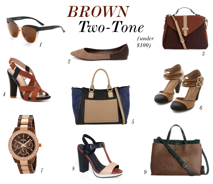 Brown Two Tone