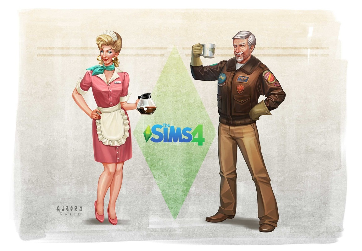 Fashion Designer Career Sims