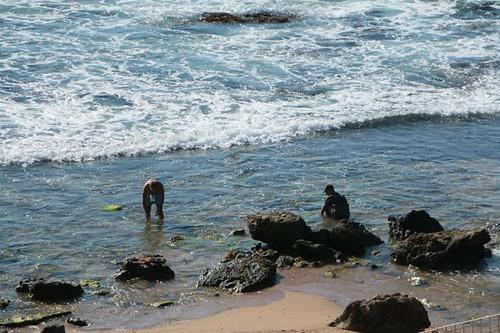Selinunte: pescatori al lavoro