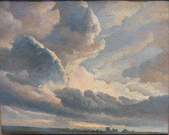 Study of Clouds with a Sunset near Rome, 1786-1801