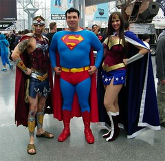 Wonder Womans and Superman