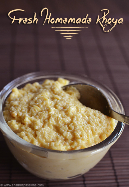 Khoya Recipe