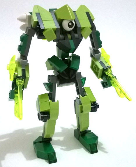 Moc Mixel Swift Assault Glorp Corp Max Lego Action Figures