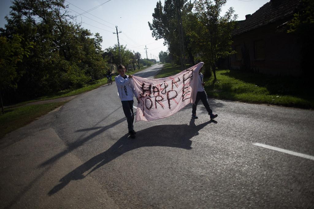 Önkormányzati választás Tiszabőn, Magyarország egyik legszegényebb településén, 2014. október 12-én.