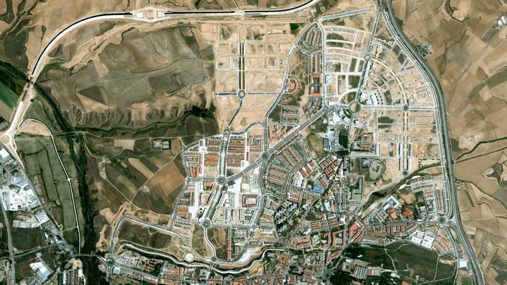 guadalajara, germaníntown, antes, urbanismo, planeamiento, urbano, desastre, urbanístico, construcción