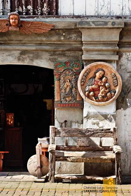 Antiques at Calle Crisologo in Vigan City