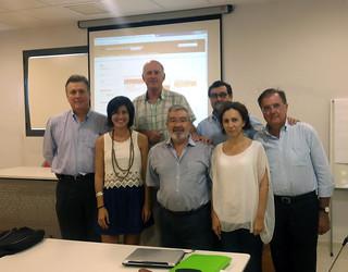 Sesión de formación al profesorado sobre uso del Campus Virtual en Colegio de Médicos de Málaga