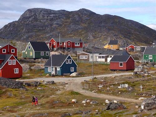 Greenland - Nanortallik houses