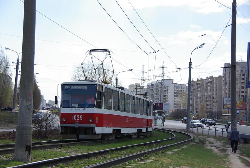 Samara tram Tatra T6B5SU