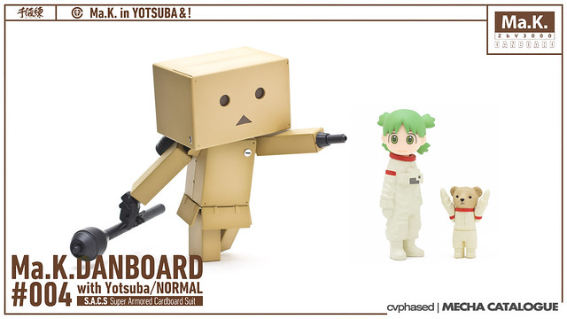 Sen-Ti-Nel Ma.K.DANBOARD #004 with Yotsuba/NORMAL
