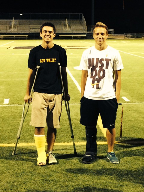 B and Tanner injured
