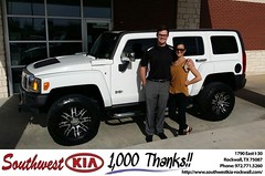 #HappyBirthday to Shay & Danica Butler from Kyle Bennett at Southwest KIA Rockwall!
