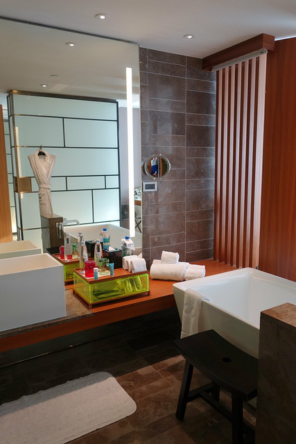 My bathroom at W Taipei - Sep 2014