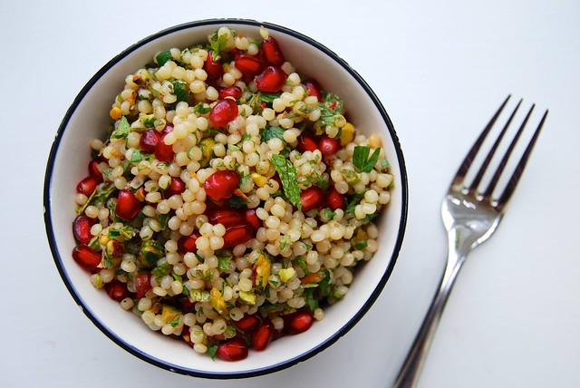 Giant : Israeli Couscous with Pomegranate & Pistacho