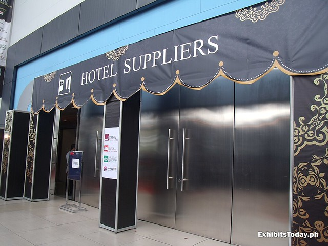 Hotel Suppliers Expo 2014 Entrance