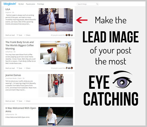 Helpful Humpday: Make the lead image of your post the most eye-catching